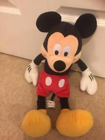 Mickey Mouse soft toy