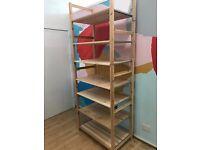 IVAR Ikea shelving