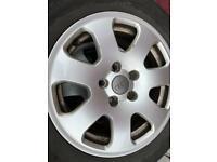 Audi 5-112 alloy wheels