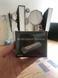 Blackmagic 6G- SDI Optical transceiver