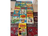 Beano annuals 1980-1989