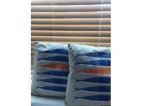 Pair of Habitat cushions