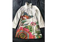 Desigual Women's Summer Coat size 8