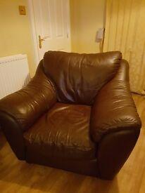 Brown Arm Chair
