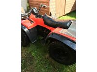 Suzuki 300 King quad 4/2 wheel drive
