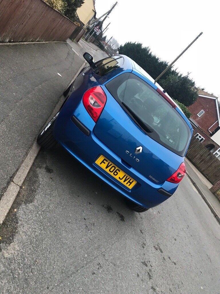2006 Renault Clio dynamique 1.4 3dr