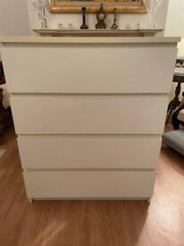 IKEA Malm Chest of 4 Drawers - I can deliver