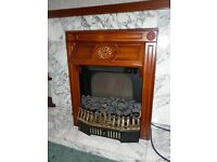 Electric coal-effect insert fire