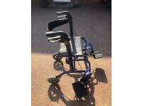 Wheelchair / Tandem Duo Rollator