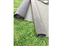 Shed roofing felt, approx 4 metres, 'Everedge' garden metal edging