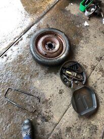 Ford, Peugeot, Citroen 4x108 spare wheel
