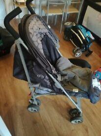 Tatty Ted stroller