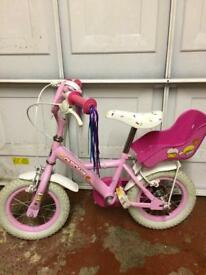 Cute girls bike perfect for Christmas