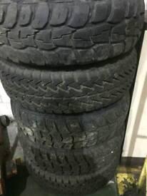 5x205/80 R16 off road tyres