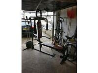 Weight fitness bench