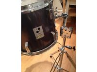Sonor Performer rack tom 13in - with holder / stand (or separate)