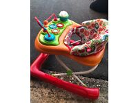 baby walker with table and detachable play area