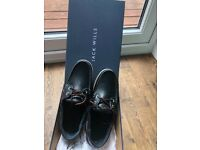 Jack wills men's navy boat shoes , size 7 , brand new never worn still in box