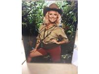 Autographed photo of Charlie Brooks (Janine from Eastenders)