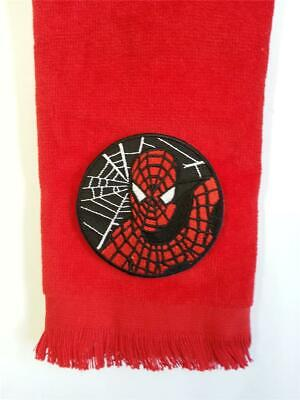 Amazing Spider Man Appliques - Spiderman fingertip TOWEL vintage applique  FREE SHIPPING amazing spider man red