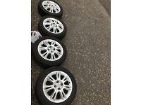 Vauxhall 4 Alloy wheels (Rims)