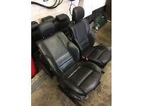 BMW 3 series e46 compact leather seats non electric