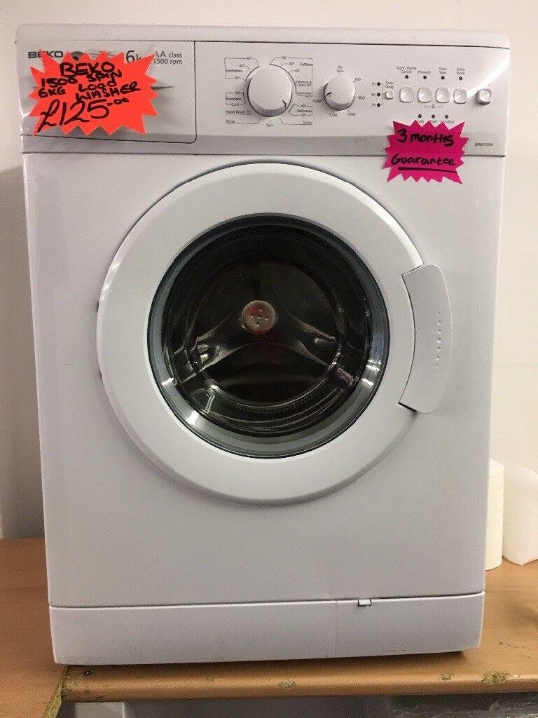 BEKO 6KG BASIC USE WASHING MACHINE