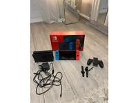 Nintendo switch with carry case & game