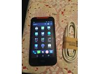 HTC desire 300 smartphone unlocked watsapp facebook play store perfectly working good battery