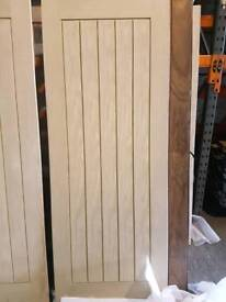 "78"" x 27"" Mexicana oak veneer doors *BRAND NEW*"