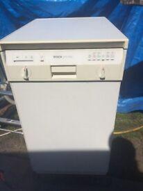 Bosch SPS 5122 Freestanding Under Counter Dishwasher Slimline