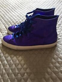 Purple Converse size 6 (39)
