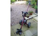 HillBilly Compact Electric Golf Trolley