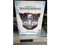 Transformers DVD, set of 3 films