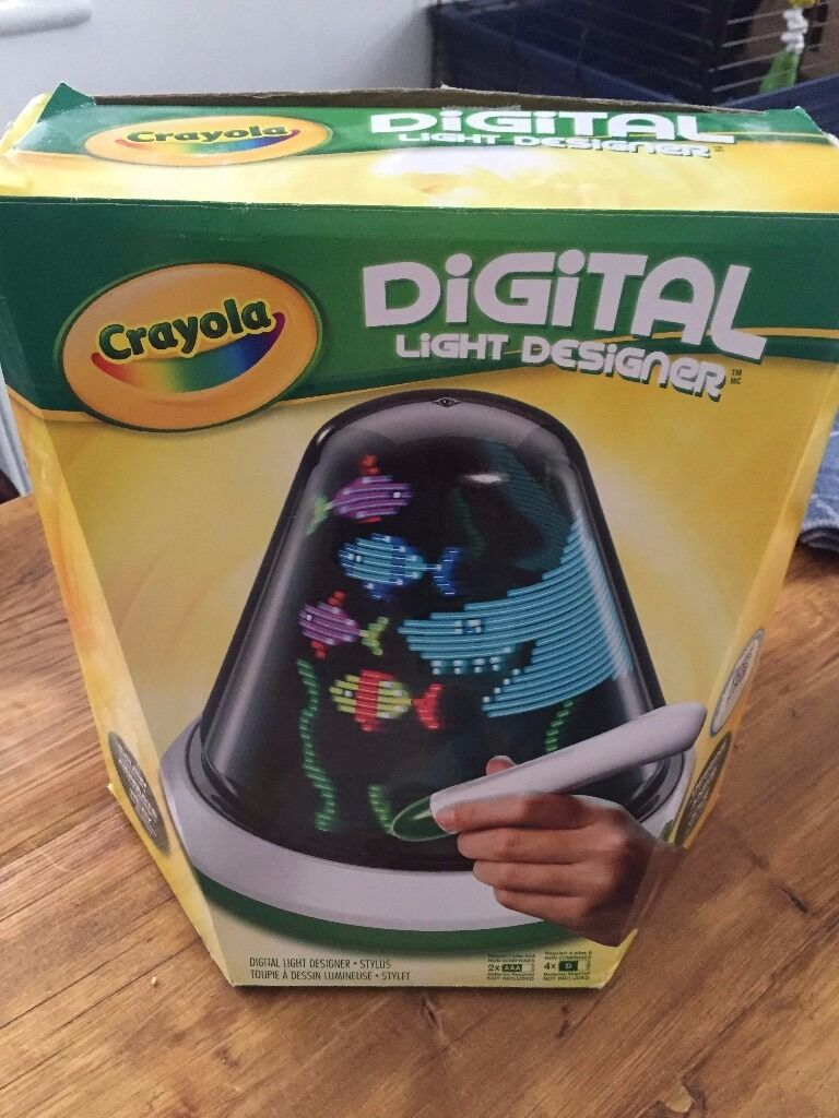Crayola Digital Light Designer Like New In Box With Instructions