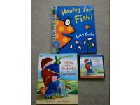 Harry and his bucket full of Dinosaurs and Hooray for fish books and cds