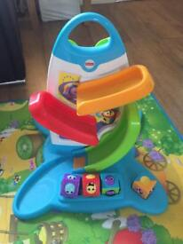 fisher price roller blocks playwall