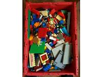 LEGO : mixed and unsorted