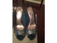 Bridesmaids shoes . Size 7 Never been worn. £15.00
