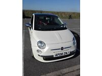 Fiat 500 Diesel Pearlescent Panoramic Roof