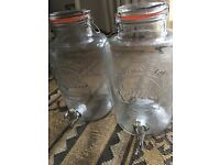 Kilner drink dispensers