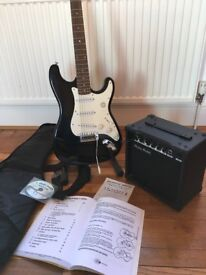 Harley Benton Electric guitar package. Never used.
