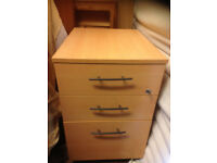 profesional office pedestal 3 drawers chest drawer
