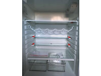 AEG fridge freezer, freestanding, fully working, twin compressor - RARE