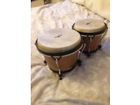 "LP CP Traditional Bongos 6""; and 7""; (natural wood) Percussion, drums RRP £53.40, bargain at £30"