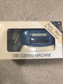 Brand new Baby Blue die cutting machine by Tattered Lace - Perfect Christmas gift