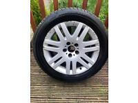 BMW Series 7 alloy brand new Michelin tyre
