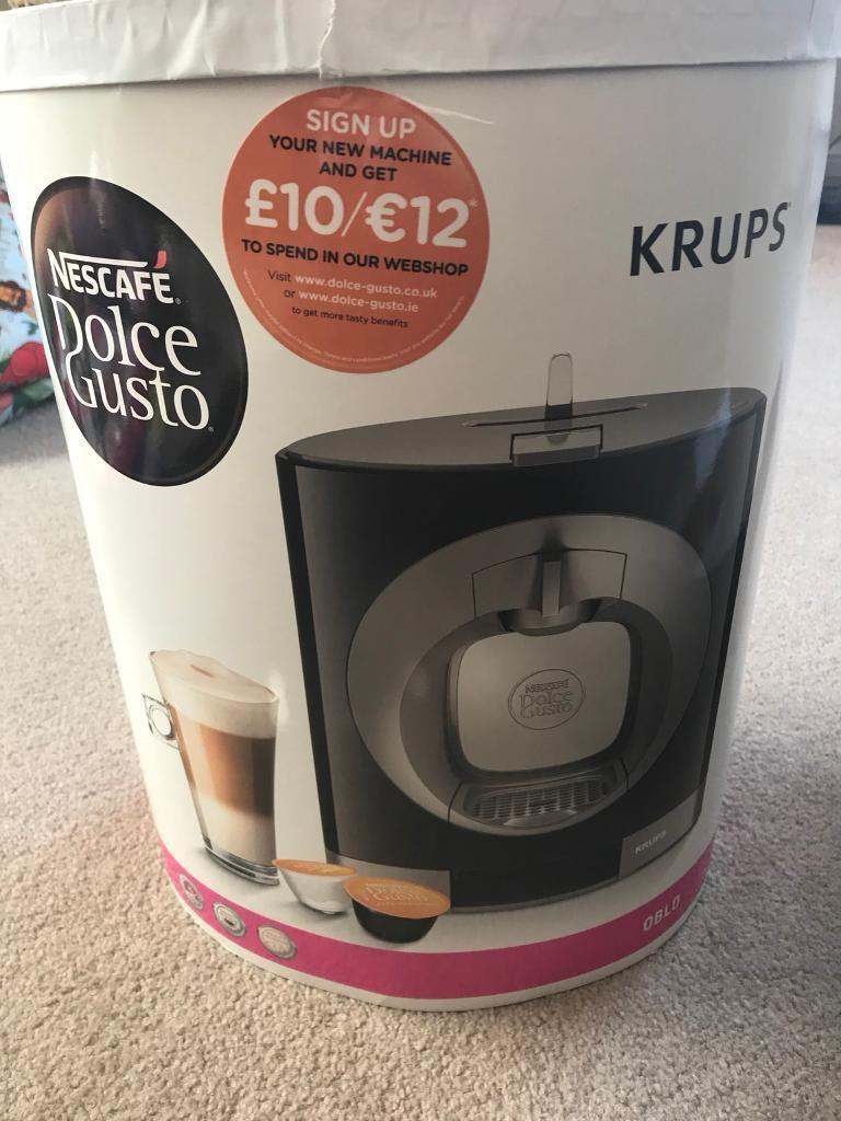 Brand new Dolce Gusto Oblo Krups