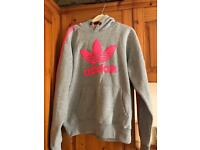 Genuine Adidas Pink & Grey Tracksuit