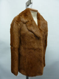 DAPHMOND Coney Fur Jacket Coat